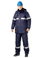 OILSTAT men's heat-insulated antistaticwork suit for oilfield workers