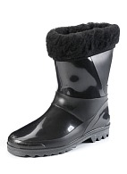 Men's insulated PVC boots