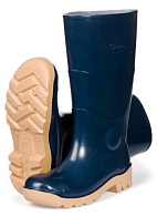 PRISMA PVC high leg boots without steel toe cap