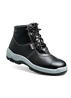 """TECHNOGARD"" insulated men's high ankle leather boots"