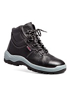 TECHNOGARD ladies high ankle leather boots without protective toe cap