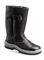 TECHNOGARD insulated knee-high leather boots without protective toe cap
