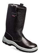 TECHNOGARD knee-high leather boots without protective toe cap