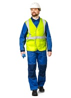 ECONOM high visibility vest, fluorescent yellow