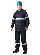 OILSTAT men's  antistatic work suit for oilfield workers