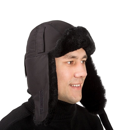 YENISEI TRAPPER HAT with helmet mounting