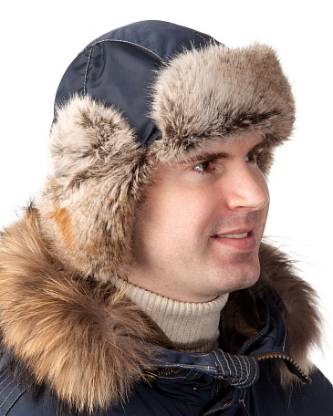 CAPTAIN faux fur trapper hat