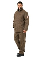 Acid protective cloth work suit