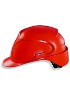 AIR WING a safety helmet with textile suspension harness (9762) red