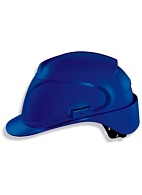 AIR WING a safety helmet with textile suspension harness (9762) blue