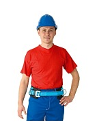 PM-30 safety belt for restraint and positioning (lineman belt)
