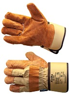 "KOTKA composite thermal gloves with Thinsulateв""ў lining with split cattle (8.721)"