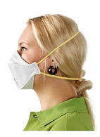 "3Mв""ў Auraв""ў 9310+ filtering half mask for protection against dust and mists (particulates) (FFP1, up to 4 MAC)"
