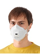 "3Mв""ў Auraв""ў 9312+ filtering half mask (respirator) for protection against particle hazards (dust and mists) (FFP1, up to 4 MAC)"