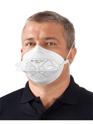 3m vflex respirator and surgical mask