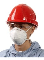 "3Mв""ў 8102 aerosol filtering half mask (respirator) (FFP2, up to 12 MAC)"