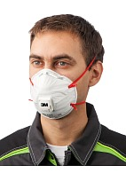 "3Mв""ў 8132 aerosol filtering half mask (respirator) (with exhalation valve)"