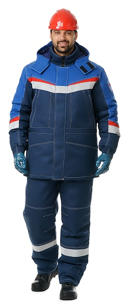 &quot;MEGATEC-2&quot; men's flame-resistant antistatic heat-insulated <br />work suit for protection against petrochemicals <br />and short-time flame exposure