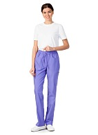 AFINA ladies medical trousers (lilac)