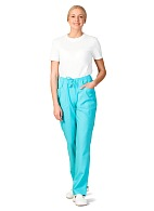 AFINA ladies medical trousers (turquoise)