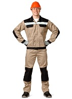 MOLOTOK men's  work suit (beige)