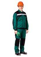 MOLOTOK men's  work suit (green)