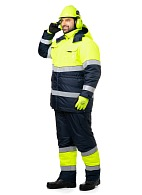 """LUMOS"" men's hi-vis heat-insulated jacket"