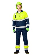 """LUMOS"" men's high visibility  work suit"