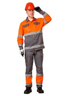"""PROZHEKTOR"" men's hi-vis  work suit"
