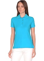 POLO ladies shirt, turquoise