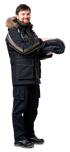 """SIBERIA-2"" men's heat-insulated jacket"