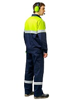 """OPERATOR HI-VIS"" men's  jacket made of antistatic fabric"