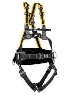 РўРђ51PE professional-grade full body harness with elastic straps