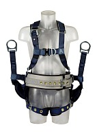 "3Mв""ў ExoFitв""ў DERRICK fall protection harness with a belt, size XL (KB11111623)"