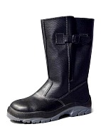 STANDART-M knee-high heat-insulated boots with metallic toe cap