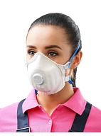 JULIA-219 aerosol filtering half mask (respirator) with exhalation valve