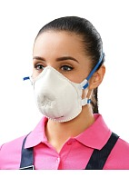 JULIA-209 Aerosol filtering half mask (respirator) with exhalation valve
