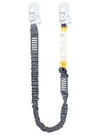 ALN101E shock absorbing stretch lanyard