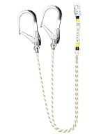 ALN202 100 two-leg lanyard with a shock absorber