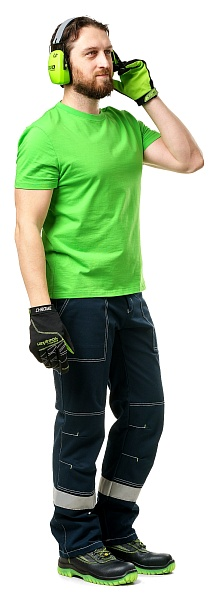 T-shirt, lime color
