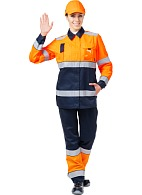 MAGISTRAL ladies hi-vis work suit
