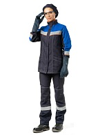 CHEMIST ladies  work suit for protection against acids and alkalis