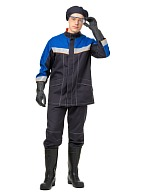 """CHEMIST"" men's  work suit for protection against acids and alkalis"