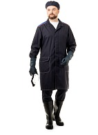 """CHEMIST"" men's smock for protection against acids and alkalis"