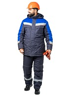 CHEMIST men's heat-insulated work suit for protection against acids and alkalis
