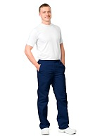 ULTRA-2 men's trousers, blue