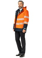 MAXIMUM men's mid-season high visibility jacket for protection against water, antistatic, GORE-TEX® membrane