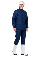 FRIDGE men's insulated jacket, blue